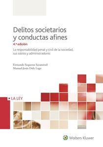 Imagen de Delitos societarios y conductas afines. 4ª Edición